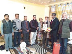 श्रीनिवास श्रीकांत 81 वर्ष के हुए - शिमला से रिपोर्ट 5