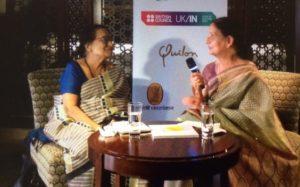 वरिष्ठ लेखिका ममता कालिया से डॉ अरुणा अजितसरिया की बातचीत 3