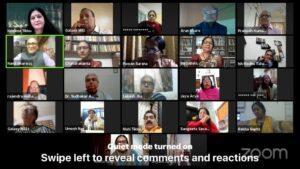 रिपोर्ट : संतोष श्रीवास्तव को शिक्षाविद पृथ्वीनाथ भान पुरस्कार 3