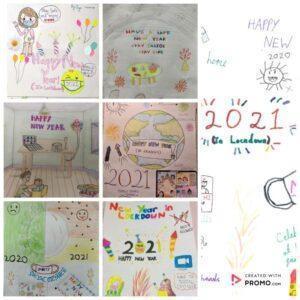 ब्रिटेन के 'गुरूकुल' के विद्यार्थियों की नववर्ष की सृजनात्मकता 4