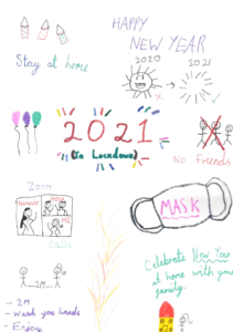 ब्रिटेन के 'गुरूकुल' के विद्यार्थियों की नववर्ष की सृजनात्मकता 3